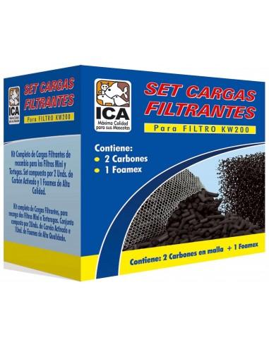 ica-set-2-carbon-y-un-foamex-para-kw200