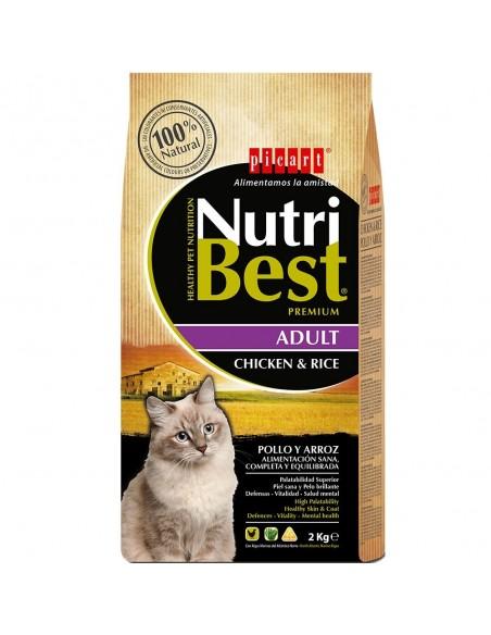 NUTRIBEST CAT AD. POLLO 15 KG
