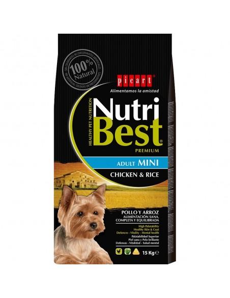 NUTRIBEST DOG AD. MINI 10 KG