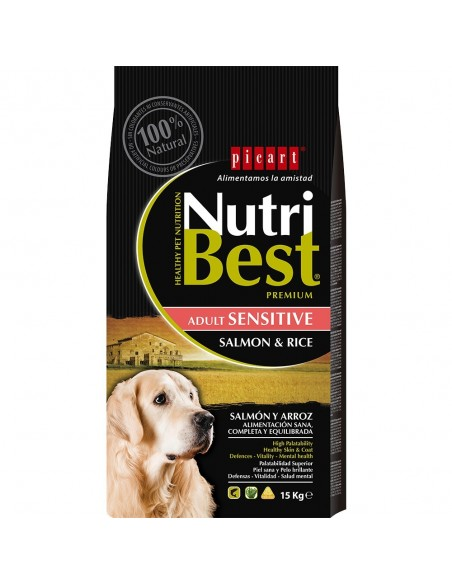 NUTRIBEST DOG AD. SALMON 15 KG