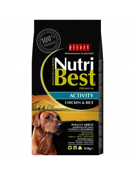 NUTRIBEST DOG AD. ACTIVITY 15 KG