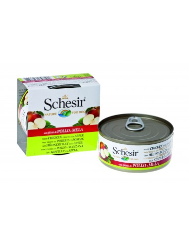 schesir-perro-pollo-manzana-150-gr