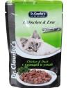 DR CLAUDER CAT POUCH POLLO/PATO 100 GR